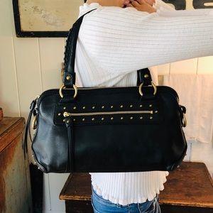 ♥️ Michael Kors ♥️ Black Studded Shoulder Bag